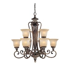 <strong>Dolan Designs</strong> Greta 9 Light Chandelier