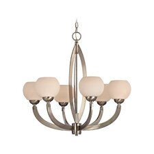 <strong>Dolan Designs</strong> Odyssey 6 Light Chandelier