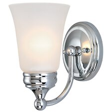 Chrysalis 1 Light Wall Sconce