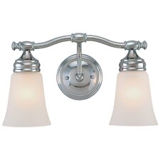 <strong>Dolan Designs</strong> Chrysalis 2 Light Vanity Light