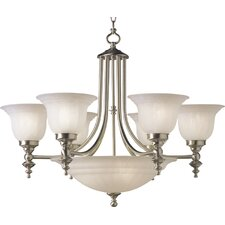 <strong>Dolan Designs</strong> Richland 9 Light Bowl Chandelier