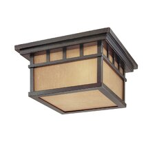 Barton 2 Light Flush Mount