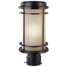 La Mirage 1 Light Outdoor Post Lantern