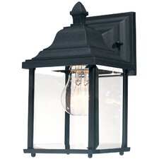 <strong>Dolan Designs</strong> Charleston 1 Light Outdoor Wall Lantern