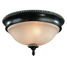Hastings 2 Light Flush Mount