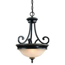 Hastings 2 Light Inverted Pendant