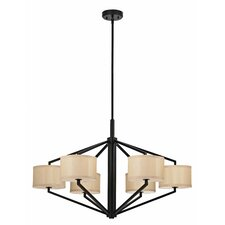 <strong>Dolan Designs</strong> Monaco 6 Light Chandelier