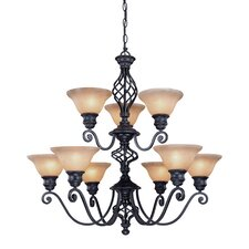 Atlantis 9 Light Chandelier