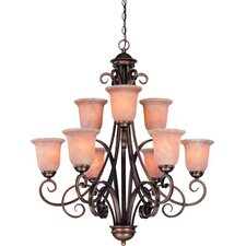 Medici 9 Light Chandelier