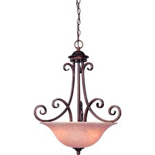 Medici 3 Light Inverted Pendant