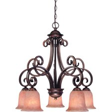 Medici 5 Light Chandelier