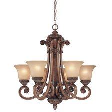 <strong>Dolan Designs</strong> Carlyle 6 Light Chandelier