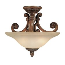<strong>Dolan Designs</strong> Carlyle Semi Flush Mount