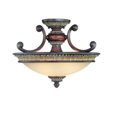 <strong>Dolan Designs</strong> Bonita 2 Light Semi Flush Mount