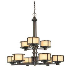 <strong>Dolan Designs</strong> Bridgetown 9 Light Chandelier