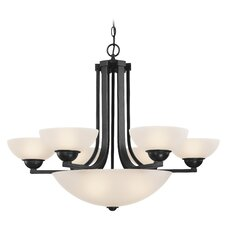 Fireside 6 Light Bowl Chandelier