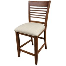 Ontario Bar Stool with Cushion (Set of 2)