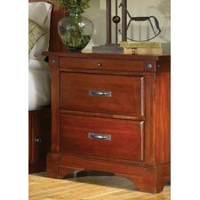 <strong>A-America</strong> Kalispell 2 Drawer Nightstand
