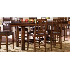 Mesa Rustica 7 Piece Counter Height Dining Set
