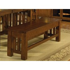 Laurelhurst Solid Red Oak Kitchen Bench