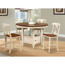 British Iles 5 Piece Dining Set