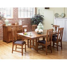 <strong>A-America</strong> Cattail Bungalow 7 Piece Dining Set