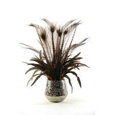 Mixed Feathers Floor Plant in Planter