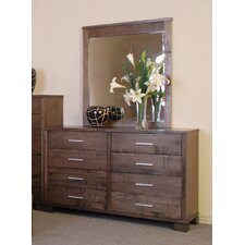 Riley 8 Drawer Dresser in Smoke