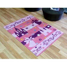 Festival Fairy Castle Kids Rug