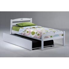 <strong>Night & Day Furniture</strong> Zest Sesame Bed in White