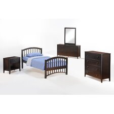 <strong>Night & Day Furniture</strong> Zest Molasses Slat Bedroom Collection