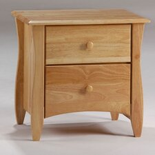 Spices 2 Drawer Nightstand