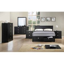 Newton 4 Piece Tallboy Bedroom Suite