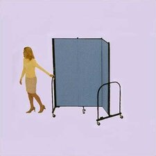 Commercial Edition Three Panel Portable Room Divider