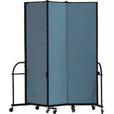 Heavy Duty Three Panel Portable Room Divider
