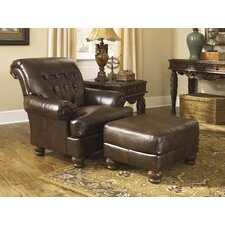 Newbern Accent Chair and Ottoman