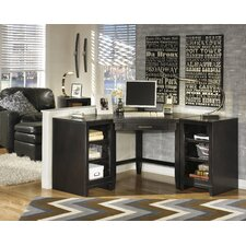 Mount Clemens Corner Desk with Bookcase