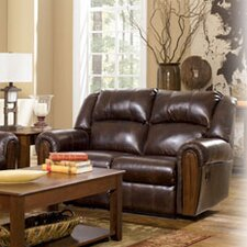 <strong>Signature Design by Ashley</strong> Marbleton Reclining Loveseat