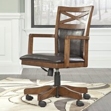 Marlette Mid-Back Office Chair with Arms