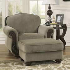 McKenzie Chair and Ottoman