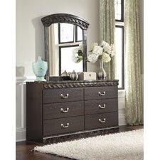 Vachel 6 Drawer Dresser