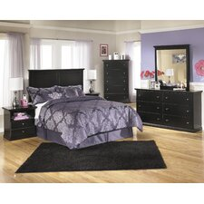 Maribel Panel Bedroom Collection