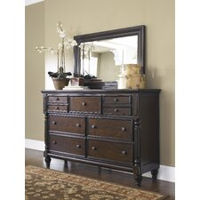 Key Town 9 Drawer Dresser