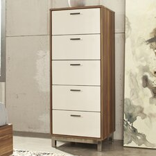 Candiac 5 Drawer Tall Chest