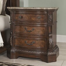 Ledelle 3 Drawer Nightstand