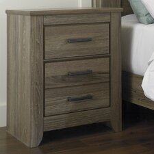 Zelen 2 Drawer Nightstand