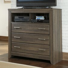 Juararo 3 Drawer Media Chest