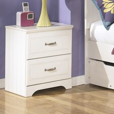 Lulu 2 Drawer Nightstand