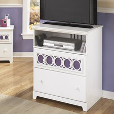 Zayley 2 Drawer Media Chest