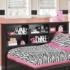 Jaidyn Twin/Full Bookcase Headboard